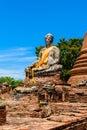 Wat Worrachettharam The measurement is important temple in Ayutt