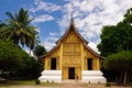 Wat Xieng thong temple,Luang Pra bang, Laos Royalty Free Stock Images