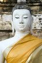 Wat Yai Chai Mongkol Buddha Stock Photography