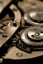 Watch mechanism Royalty Free Stock Images