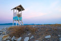 Watch point at the sea from rayong Stock Photo