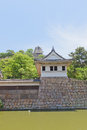 Watch tower and main keep of Marugame castle, Japan Royalty Free Stock Photo