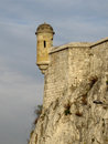 Watch tower old castle Royalty Free Stock Photo
