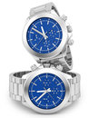 Watches render of on white Stock Photos