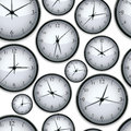 Watches seamless background. Royalty Free Stock Photo