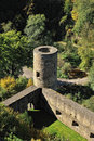 Watching tower from Eltz castle in Germany Stock Photo