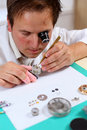 Watchmaker Royalty Free Stock Images
