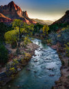 The Watchman, Zion National Park, Utah Royalty Free Stock Photo