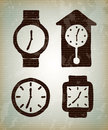 Watchs tipes Royalty Free Stock Photo