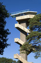 Watchtower at highest point in the Netherlands, Vaals Royalty Free Stock Photo