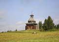 Watchtower in khokhlovka perm krai russia Stock Photos