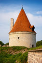 Watchtower. Saaremaa island, Estonia Royalty Free Stock Image