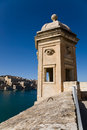 Watchtower, Senglea, Malta Royalty Free Stock Images