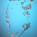 Water with air bubbles Royalty Free Stock Photo