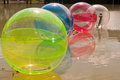 Water ball the tea is fairly attractive color light Royalty Free Stock Photo