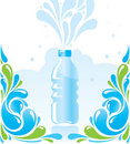 Water bottle Stock Image