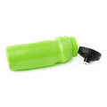 Water bottle isolated over the white background sport plastic green Stock Image