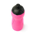 Water bottle isolated over the white background sport plastic pink Royalty Free Stock Image