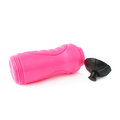 Water bottle isolated over the white background sport plastic pink Stock Image