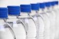 Water bottle lids Royalty Free Stock Photo