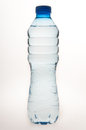 Water bottle white background Royalty Free Stock Photo