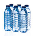 Water bottles Royalty Free Stock Photo