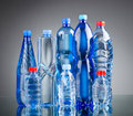 Water bottles - healthy drink concept Stock Photography