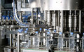 Water bottling plant Royalty Free Stock Photo