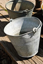 Water Buckets Royalty Free Stock Photos