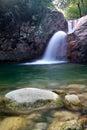 Water cascade Stock Photos
