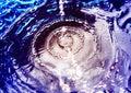 Water circles Royalty Free Stock Photo