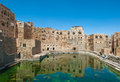 Water cistern at hababah traditional village yemen ancient Royalty Free Stock Photos
