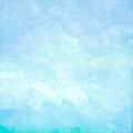 Water color like sky on old paper texture Royalty Free Stock Photo
