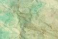 Water color on old crumpled paper texture. abstract background Royalty Free Stock Photo