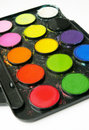 Water-colours Stock Photography