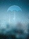 Water Drop Forming a Umbrella