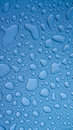 Water droplets on metal Royalty Free Stock Photo