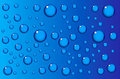 Water drops background Stock Photos