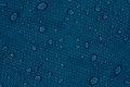 Water drops on a dark blue background. Royalty Free Stock Photo