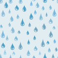 Water drops seamless pattern. Raindrop background. Rain texture Royalty Free Stock Photo