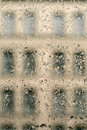 Water drops on window Royalty Free Stock Photo