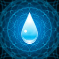 Water Element Background Royalty Free Stock Photo