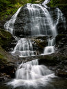Water Falls, Stowe Vermont Royalty Free Stock Photo