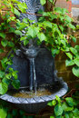 Water Feature Stock Photo