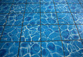 Water floor tile Royalty Free Stock Image