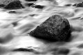 Water Flowing Over Rocks Royalty Free Stock Photo