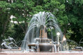 Water Fountain, Hyde Park, Sydney, Australia. Royalty Free Stock Photo