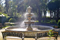 Water fountain in park Royalty Free Stock Photo