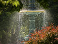 Water Fountain in Sun Light Royalty Free Stock Photo