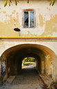 Water gate on Fortress Hill Cetatuia in Cluj Napoca Royalty Free Stock Photo
